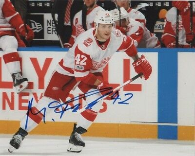 Detroit Red Wings Martin Frk Autographed Signed 8x10 Photo COA  1 e501558d2124