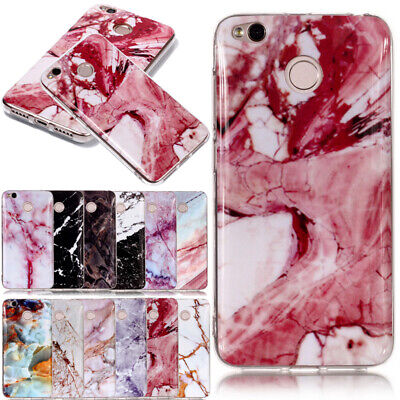 Granite Marble Texture Pattern Phone Soft Case Cover For Xiaomi Redmi Note 5 Pro