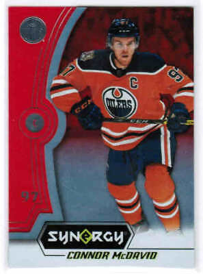18/19 UD SYNERGY HOCKEY BASE/LEGENDS RED PARALLEL CARDS (#1-40) U-Pick From List