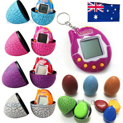 4x Tamagotchi Virtual Cyber Pet Toy Retro 90s Nostalgic Machine + Eggshell Gift