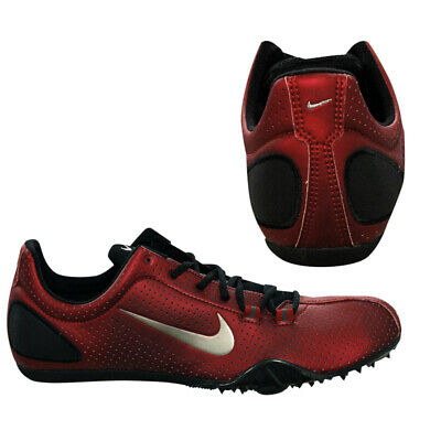 NIKE ZOOM MAXCAT Mens Trainers Red Running Sprint Spikes Shoes 307096 601  B25D