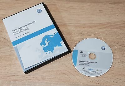 VW RNS 510 Navigation DVD Europe V15 2018 EAST - Europe OST