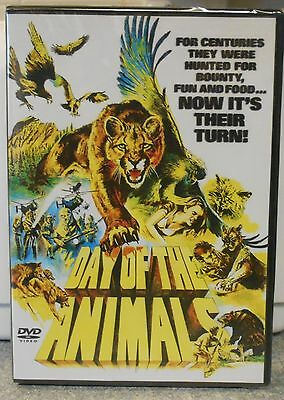 Day of the Animals (DVD, 2006) RARE 1977 HORROR BRAND NEW