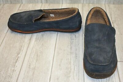175555fdfac Acorn Ellsworth Suede Moc Slipper - Men's Size 10 Mineral DAMAGED