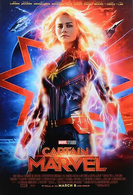 CAPTAIN MARVEL MOVIE POSTER, US Version, size 24x36