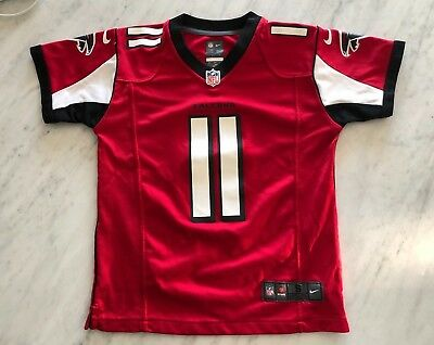 ATLANTA FALCONS  11 JULIO JONES Youth Jersey HOME RED Nike NFL On Field  Size S ae61d543b