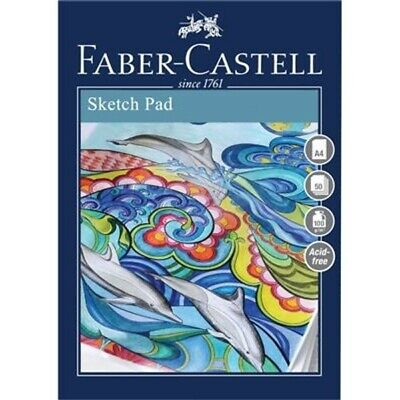 Faber Castell A4 Creative Studio Sketch Pad 100Gsm 50 Sheets Art Drawing Pad