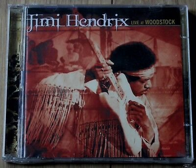 Jimi Hendrix - Live at Woodstock (1998) - New 2CD's - In Wrappers