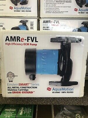 AQUAMOTION SMART AMRe-FVL CIRCULATOR PUMP ECM AM55-FVL HVAC