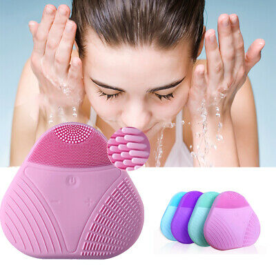 Soft Silicone Face Cleansing Brush Super Electric Skin Face Washing Machine