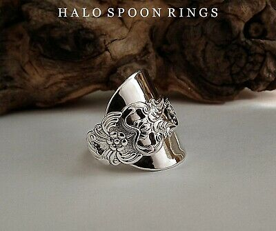Silver Spoon Chunky Swedish  Ring Gab 1967 The Perfect Mothers Day Gift Idea