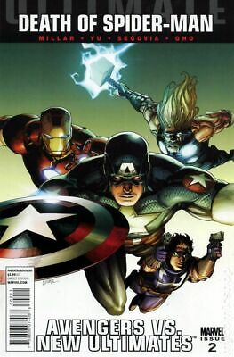 Ultimate Avengers vs. New Ultimates (Marvel) #2A 2011 NM Stock Image