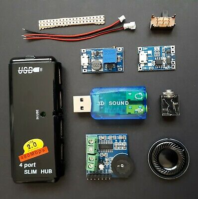 Electronics components and accessories for Gameboy zero