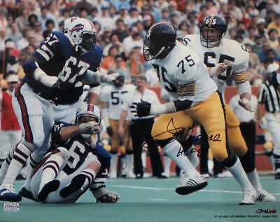 8a92c3cbb Joe Greene Autographed Signed Pittsburgh Steelers 16x20 Photo HOF 18780 PF