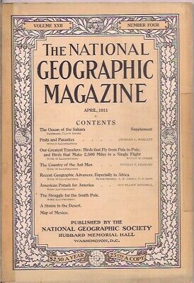 national geographic-APR 1911-THE STRUGGLE FOR THE SOUTH POLE.