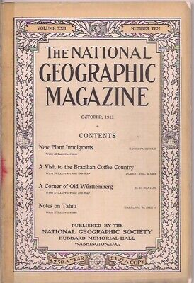 national geographic-OCT 1911-NOTES ON TAHITI.
