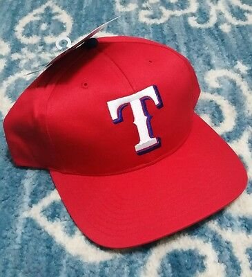 d0a464491a1 Texas Rangers Vintage 90s Snapback hat MLB Tags Twins Enterprise NWT New