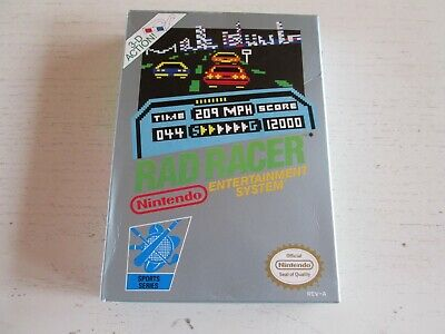 Rad Racer (Nintendo Entertainment System, 1987). Complete in Box. CIB. NES.