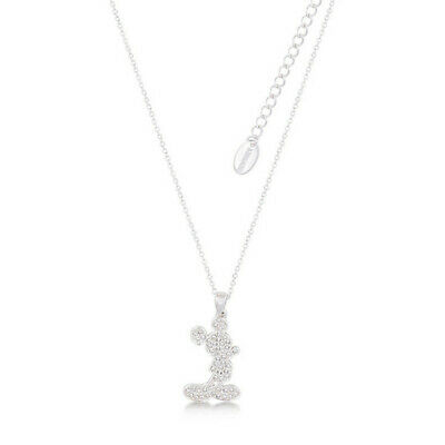 Disney Couture Kingdom Mickey Mouse Necklace - Silver