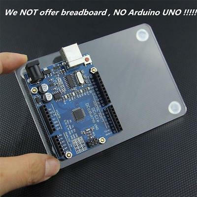Acrylic Experimental Platform Base-plate for Arduino UNO R3 Board Fixation