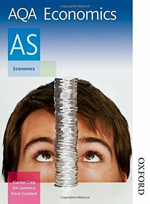 (Good)0748799648 AQA Economics AS: Student's Book (Aqa As Level),Stoddard, Steve