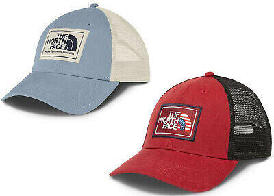 27e36be9ac0c58 The North Face Mudder Trucker Hat/Cap NEW 2 Colors Snapback Americana