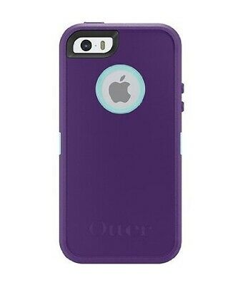OtterBox Defender Case for iPhone 8 / iPhone 7 with Screen Protector Purple Blue