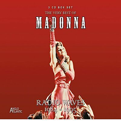 Madonna - The very best of-Radio Waves 1984-1995 CD (3) Anglo Atlantic NEW