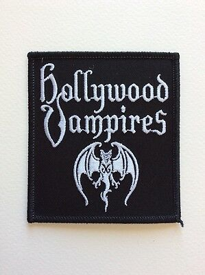 M402 // Ecusson Patch Aufnaher Toppa / Hollywood Vampires 8*9 Cm