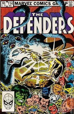 Defenders (1st Series) Mark Jewelers #114MJ 1982 VG 4.0 Stock Image Low Grade
