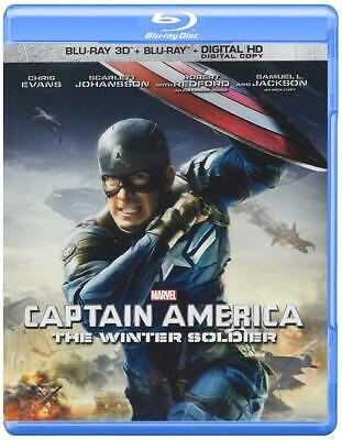 Captain America: The Winter Soldier (2-Disc Blu-ray 3D + + Digital HD)...