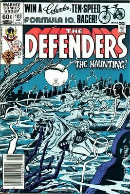 Defenders (1st Series) #103 1982 VF Stock Image