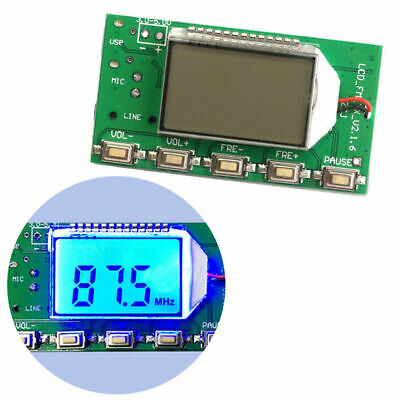 Modulation 87-108MHz Stereo PLL Board Digital FM Transmitter Wireless Module