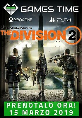 Tom Clancy's The Division 2 PS4 XBOX ONE - PREORDINA ORA! - PREORDER NOW !