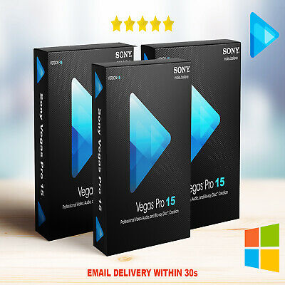 Sony Vegas Pro 15🔥NEW🔥PC🔥🔐Lifetime License Key🔐🔥Instant Delivery (30s)📥