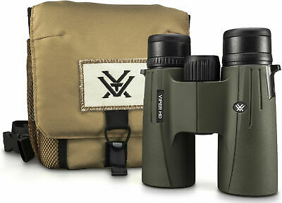 NEW 2019 Vortex Optics Viper HD 2018 Roof Prism Binoculars 10x42 BINO W/ HARNESS