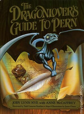 Dragonlover's Guide to Pern HC (Del Rey Books) #1-REP 1989 VG Stock Image