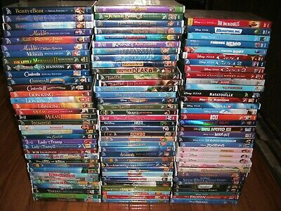Ultimate Walt Disney collection on DVD. 105 titles! Animated classics only!