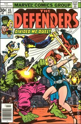 Defenders (1st Series) #45 1977 VG 4.0 Stock Image Low Grade