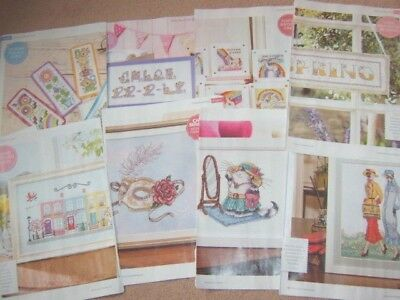 Assorted Mixed Single Cross Stitch Charts ~ Menu Choice ~ Margaret Sherry etc...