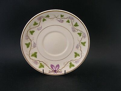 China Replacement WEDGWOOD CREAMWARE SAUCER Antique English China Grapevine Bow