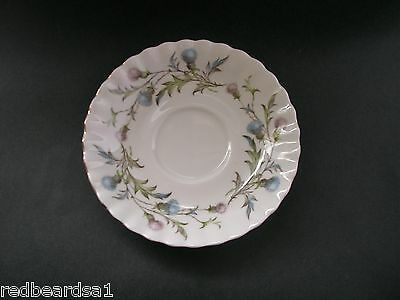 China Replacement Royal Albert Vintage Brigadoon Thistle Saucer England c1960s