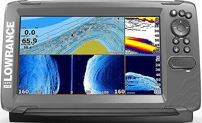 "Lowrance HOOK2 5"" Fish/Depth Finder, TripleShot, US Inland Charts, 000-14285-001"