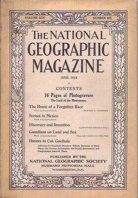 national geographic-JUNE 1914-SCENES IN MEXICO.