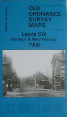 Old Ordnance Survey  Maps Leeds SW Holbeck & New  Wortley Yorkshire 1906 New