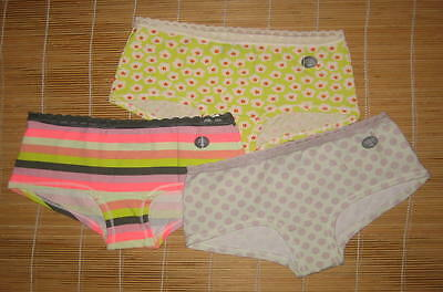 734fdf2bf6b1 3 Gap Body Panties ultra low rise Girl Shorts Short Lace Waistband Extra  Small
