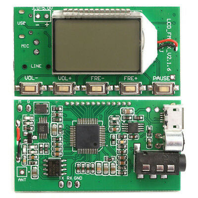 87-108MHz Transmitter Module Digital Wireless FM Accessories DC 3.0V-5.0V 100mW