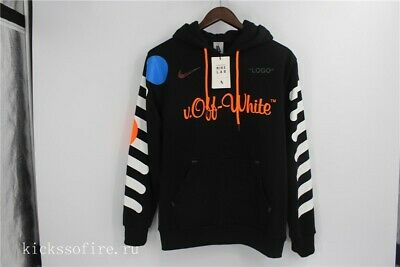 a417076d850f Nikelab x OFF-WHITE Mercurial NRG X Hoodie Black Size XS New With Tags