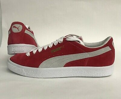 0fd2df08a33c BRAND NEW WITH Box Red Puma Suede Classic Men s Sneakers Size 9 ...