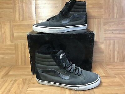 RARE🔥 VANS x Rebel8 Mike Giant Sk8-Hi Charcoal Black Sz 13 Men s  Skateboarding 9b59c7d5d